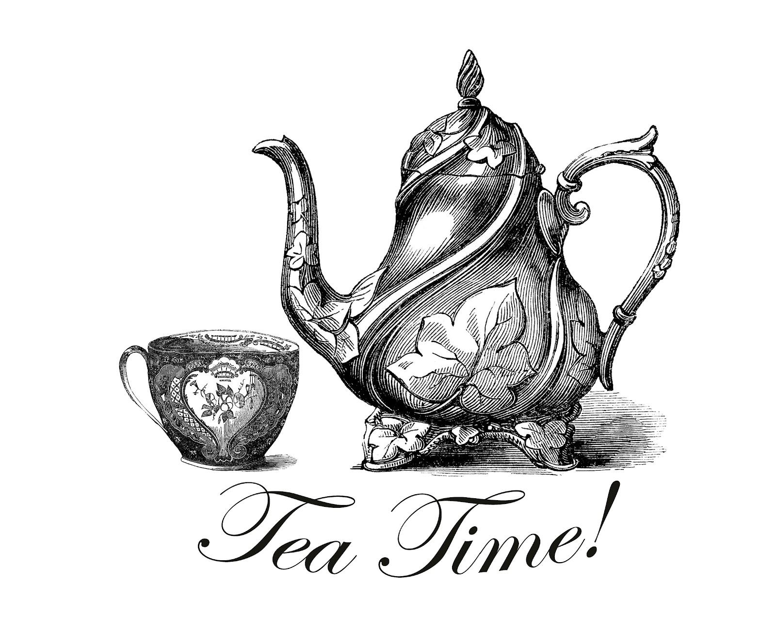 Down The Rabbit Hole And Free Tea Time Printable