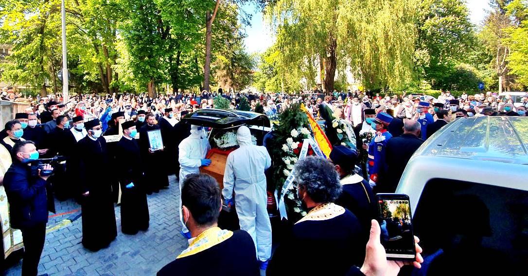 Înmormântare ÎPS Pimen
