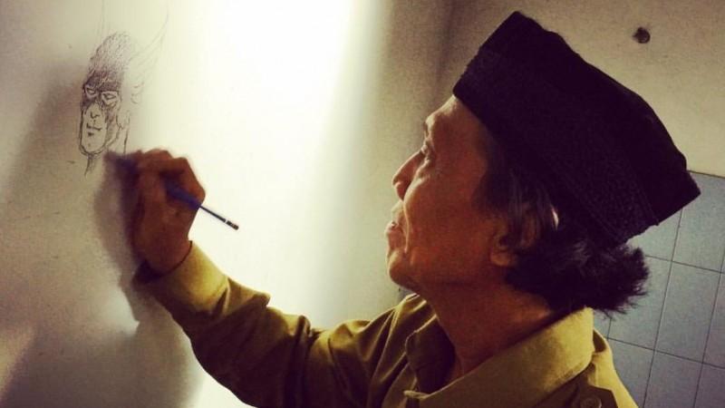 Pak Hasmi, penulis Gundala Putra Petir semasa hidup