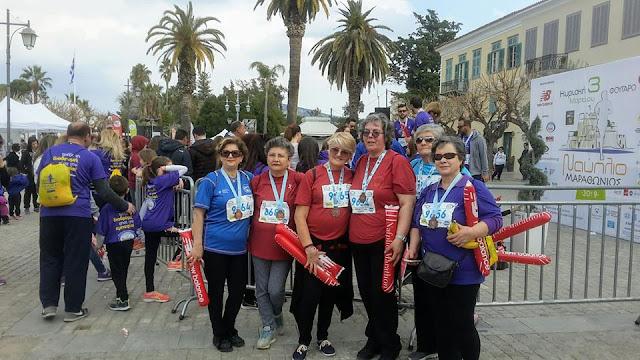 Στο Μαραθώνιο Ναυπλίου για μια ακόμα χρονιά ο Σύλλογος Καρκινοπαθών και Φίλων Αργολίδας «Η ΑΛΛΗΛΕΓΓΥΗ»