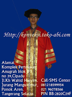 Tempat pembuatan Toga Wisuda di Jakarta : Jakarta selatan, Jakarta Barat, Jakarta Timur, Jakarta Utara, Jakarta Pusat