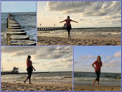 Wyprawa nad Morze Bałtyckie / Szycie / Pomysły na plażę przez Iwakki