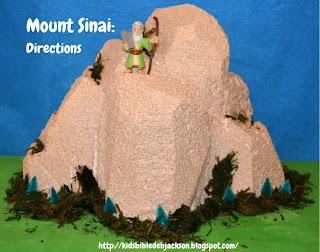 http://www.biblefunforkids.com/2013/10/mount-sinai-foam-visual.html