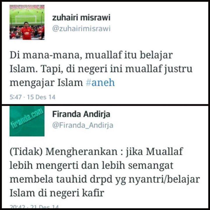 Zuhairi Misrawi Di-Skak Ustadz Firanda Andirja dengan Satu Kalimat
