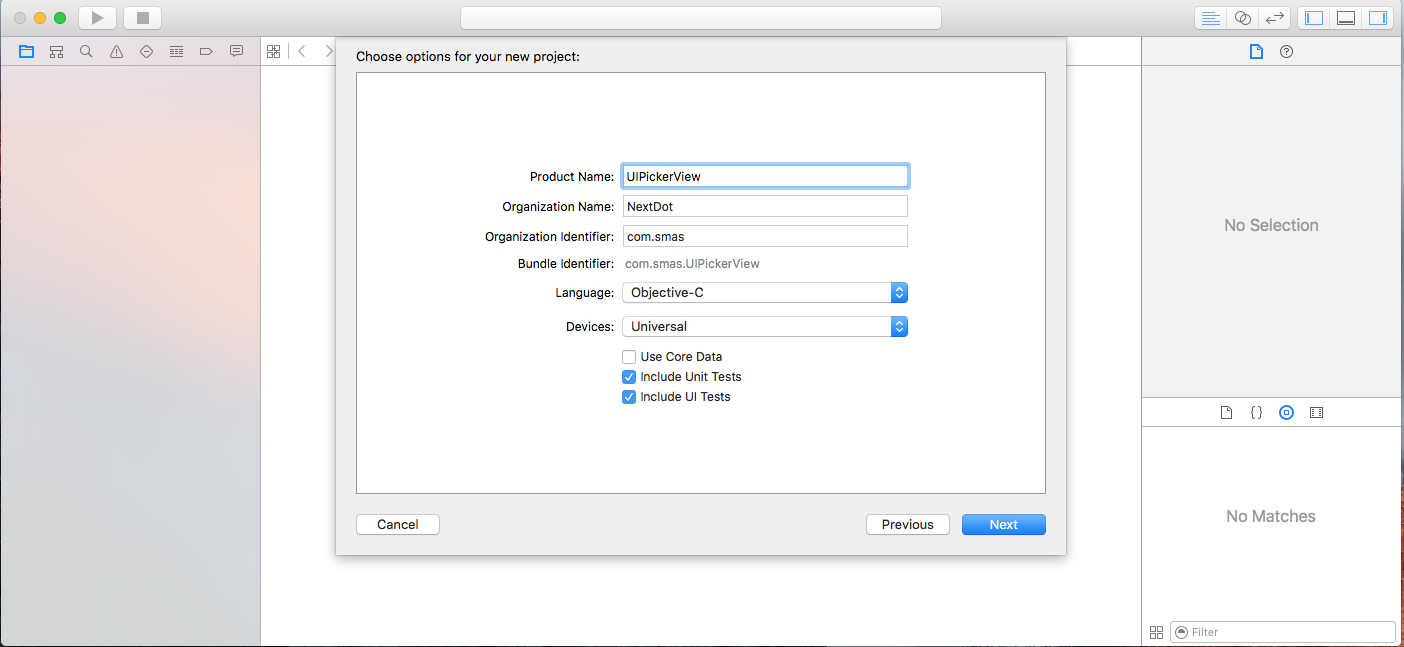 IOS UIPickerView Example and Tutorial in Objective-C