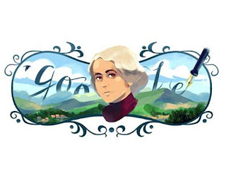 Google celebrates Grazia Deledda: a doodle for the Nobel Prize writer