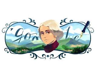 Google celebrates Grazia Deledda: a doodle for the Nobel Prize writer