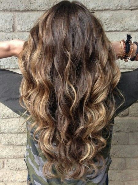 Wave hairstyle