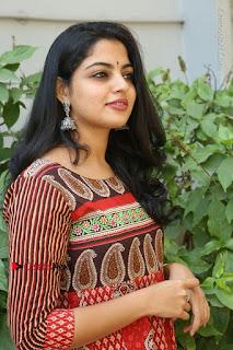 Telugu Actress Nikhila Vimal Latest Stills in Anarkali Dress  0147.JPG