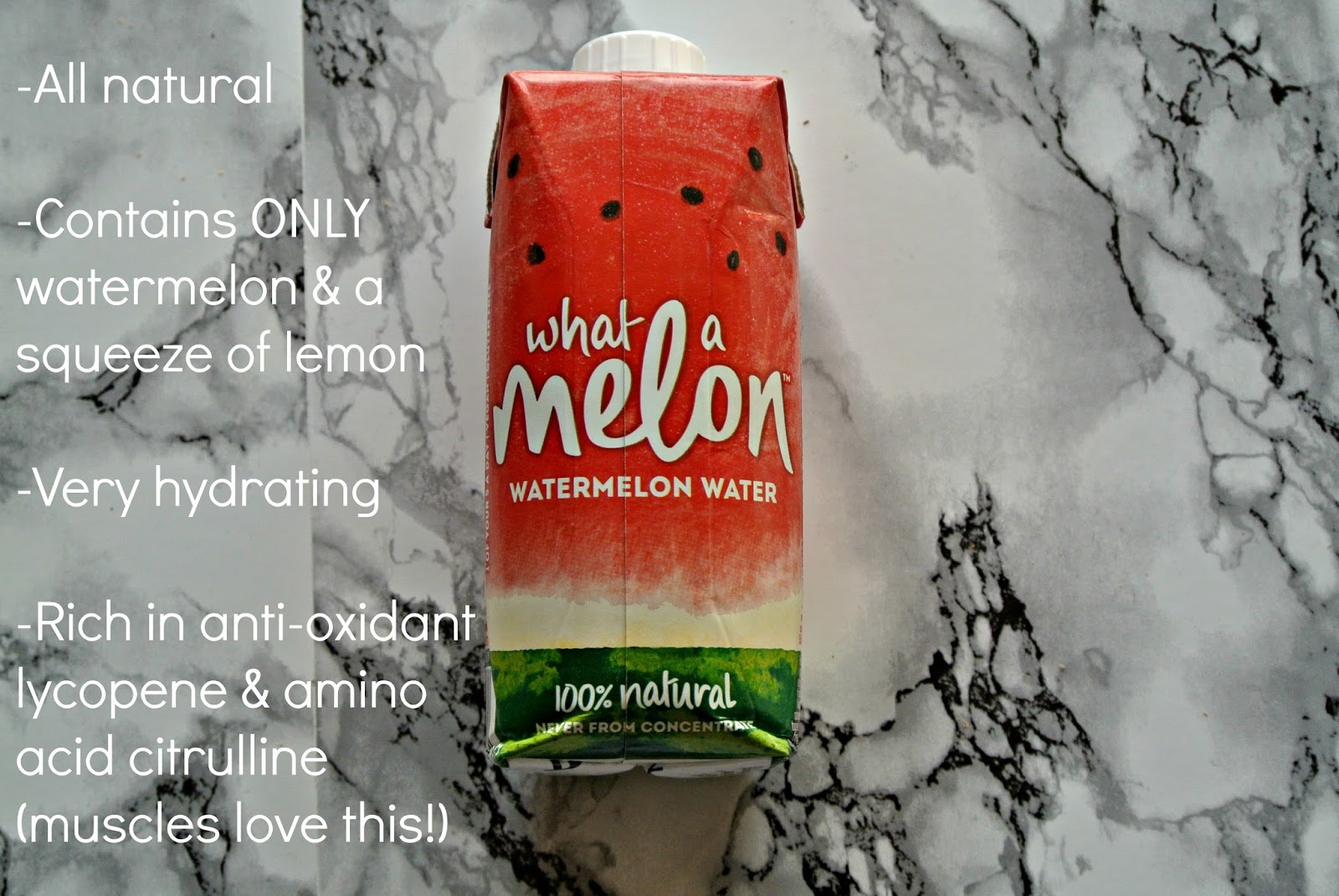 What A Melon Watermelon Water Drink Degustabox Image