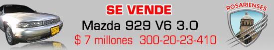 Vendo Mazda 926 colombiano en 7millones de pesos, en Villa del Rosario. www.rosarienses.com