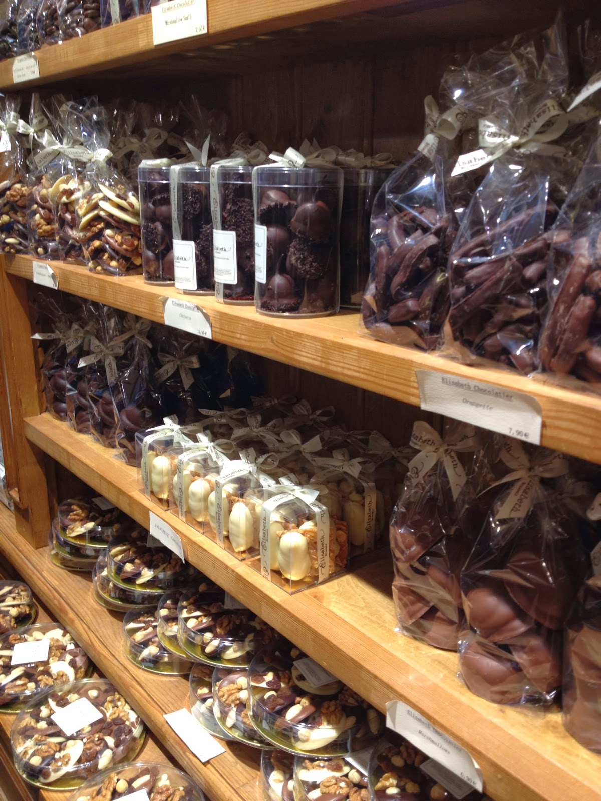 Brussels - Some of the chocolate looks too beautiful to eat