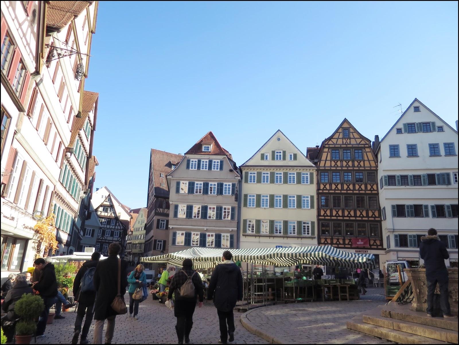 小千與卡西火的世界: 2015' 德國自駕遊15日 ~ Day11: 最有名的大學城 Tubingen/ Outlet City Metzingen