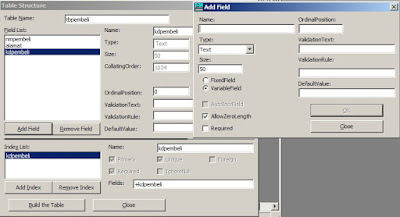 Cara Membuat Database dan Tabel Microsoft Access Pada VB 6 - www.helloflen.com