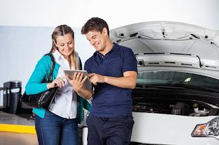Seis de cada diez coches de empresa se sometió a una revisión completa en el taller en 2016