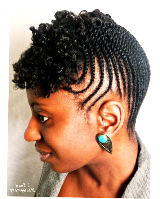 African American Hairstyles With Bangs Picture