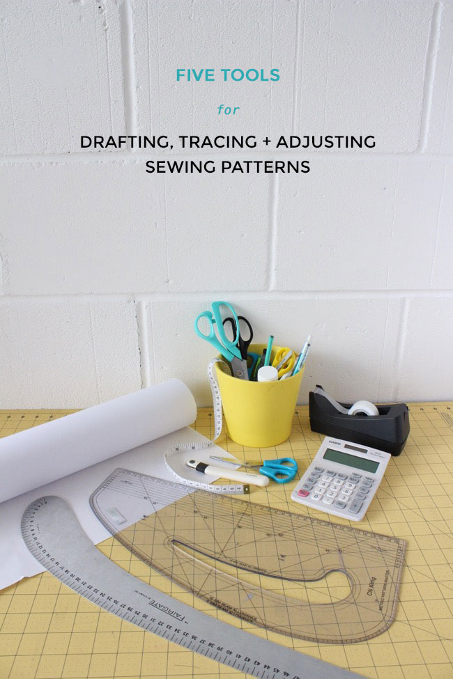 Tools for drafting, tracing and adjusting sewing patterns - Tilly and the Buttons