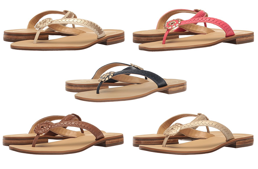 Amazon: Jack Rogers Ali Sandals only $40 (reg $118) + Free Shipping!