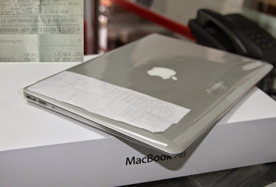 jual Macbook Air 13.3 Early 2014 ( MD76iD/B )
