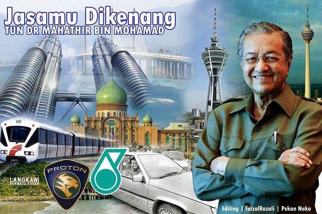 Mahathir: Mengapa Hanya KLCC, Roboh Juga KLIA, Cyberjaya, Putrajaya