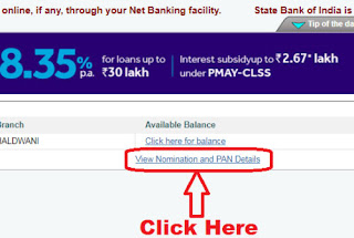 how to get cif no of sbi account online