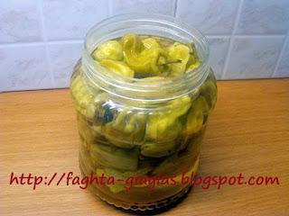 Πιπεριές τουρσί (πίκλες) - από «Τα φαγητά της γιαγιάς»