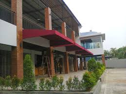 jasa pembuatan canopy membrane tangerang dan canopy kain tangerang