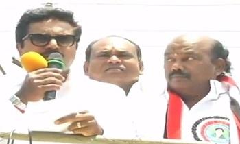 Sarath Kumar Campaigns for Madurai North ADMK Candidate Rajan Chellappa | Thanthi Tv