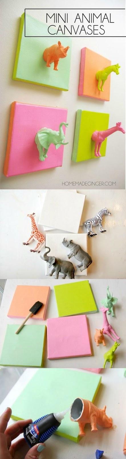 Ideas para decorar las habitaciones de tus hijos. Fotos extraídas desde Pinteres. Mod Podge Rocks