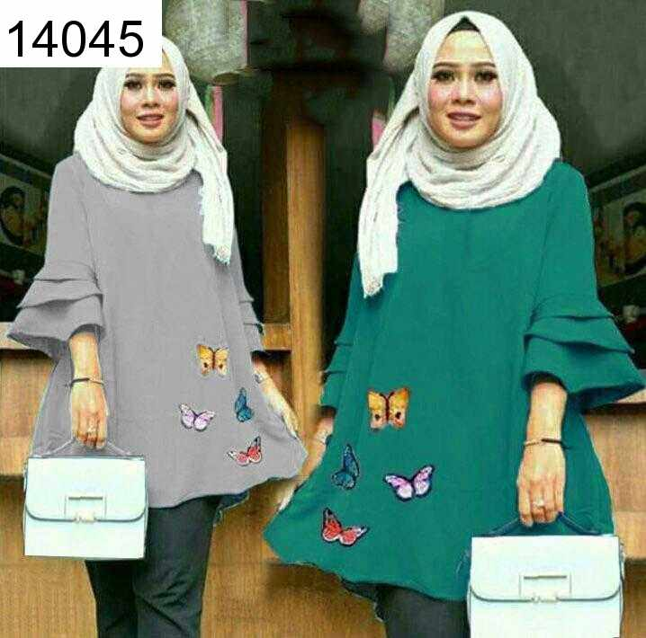 Jual PRODUK PO  Tunic Butterfly - 14045