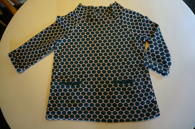 boden polka dot top