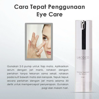 Cara Pakai Lacoco Intensive Treatment Eye Serum