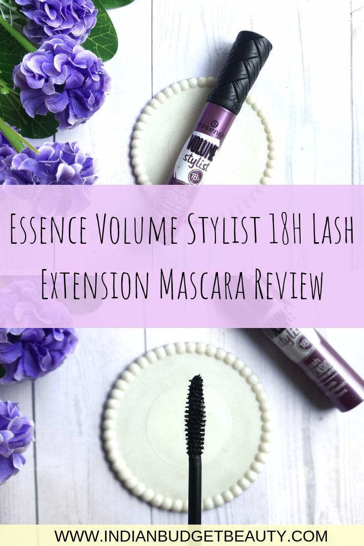 Essence Volume Stylist 18H Lash Extension Mascara Review