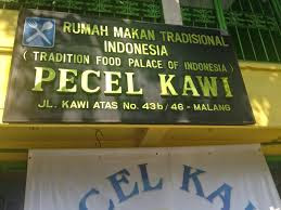 Travel Malang Banyuwangi, Pecel Kawi, 0822-333-633-99, Travel Malang Banyuwangi