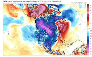 ADVERTENCIA: aire polar afectará mexico en los próximos dias.