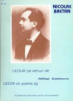 Lieduri pe versurile lui Eminescu
