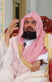 Syaikh DR, Abdurrahman bin 'Abdil 'Aziz as-Sudais