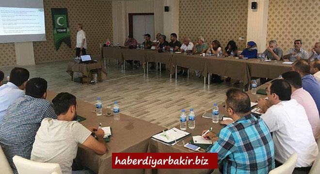 Yeşilay bölge toplantısı Diyarbakır'da yapıldı