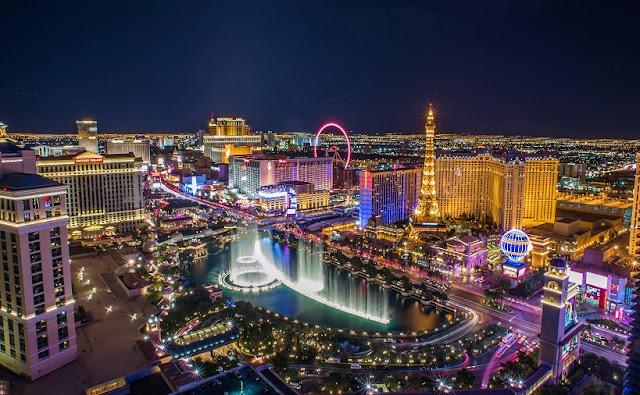 Las Vegas vista de cima