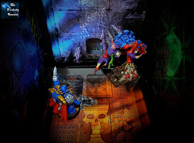 Space Hulk Tyranids Broodlord vs Space Marines Ultramarines Force Commander