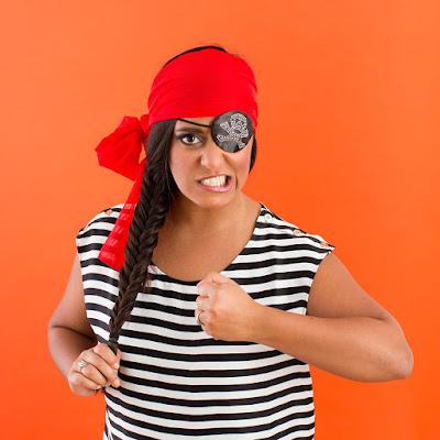 Disfraz  de pirata sexy sin necesidad de coser