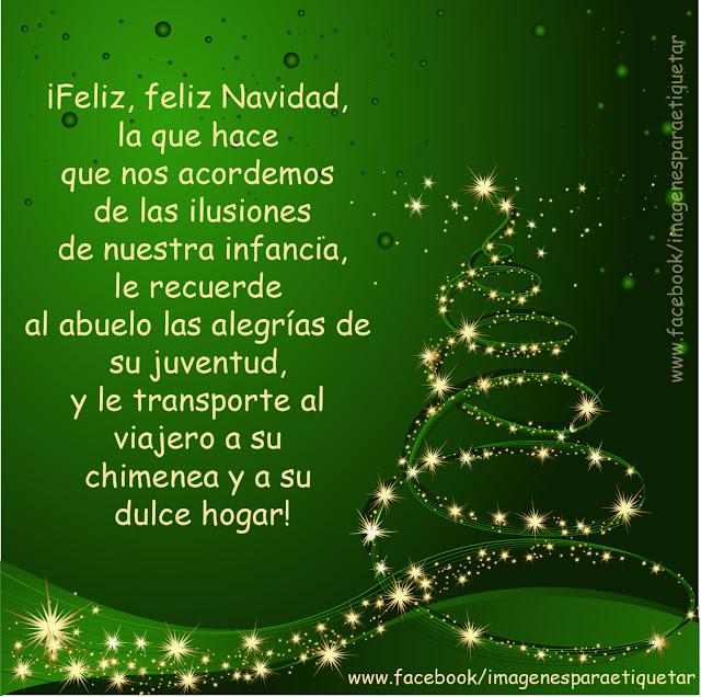 Mensajes de feliz navidad