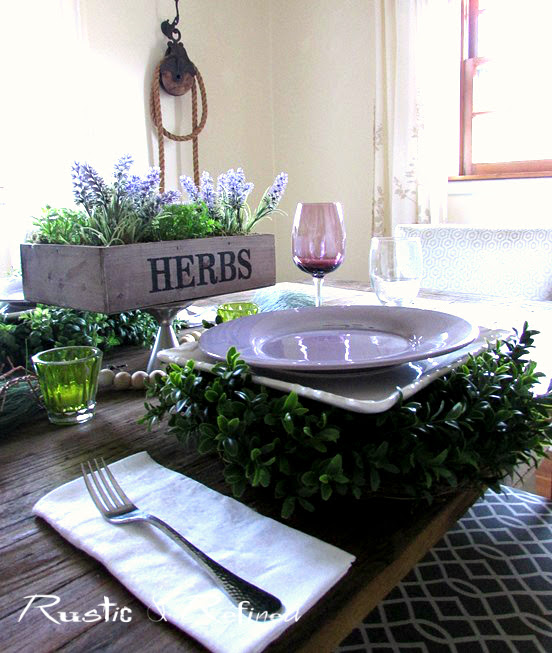 Tabletop Entertaining Ideas with Lots of Color