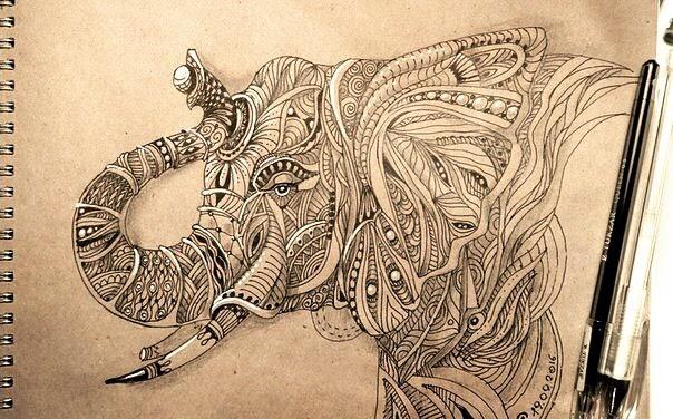 06-Elephant-hello_zenart-www-designstack-co