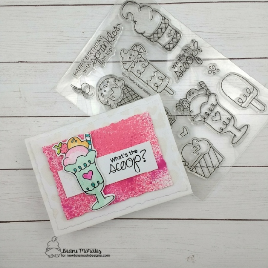 What's the scoop by Diane features Summer Scoops and Tumbling Heart by Newton's Nook Designs; #newtonsnook