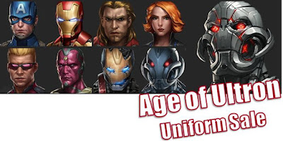 Promo sale Uniform Age Of Ultron