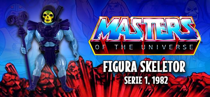 Masters del universo: Skeletor Mattel 1982