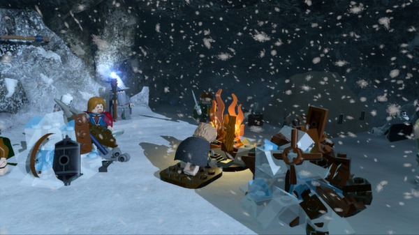Lego Lord of the Rings Free For PC