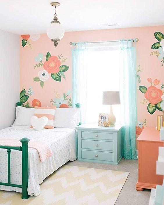 quaro infantil, quarto de menina, decoração infantil, decoração de quarto infantil, blog materno, maternidade, gravidez, adesivo de parede, adesivo quarto infantil