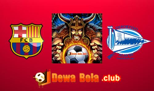 Prediksi Barcelona VS Deportivo Alaves 28 Mei 2017